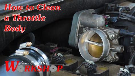 2005 Trailblazer Throttle Position Sensor by How To Clean A Throttle 2007 Chevy Trailblazer