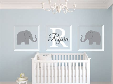 Elephant Wall Decor For Nursery Gray Crib Bedding And Nursery Decor Webnuggetz