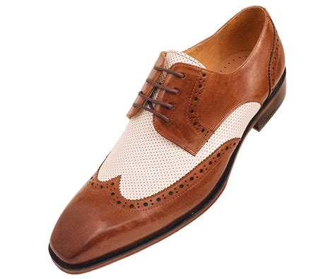 brown and white oxford shoes vintage style 1950s s shoes mens fashion and