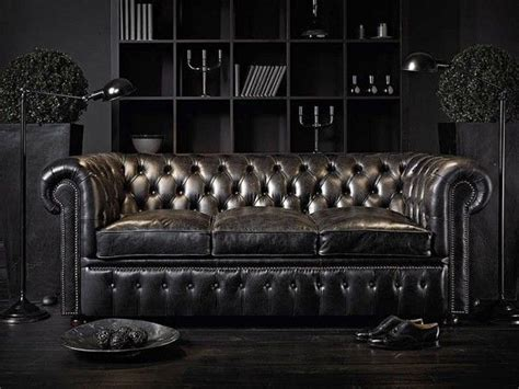 luxury chesterfield sofa luxury black leather chesterfield sofa luxury sofas