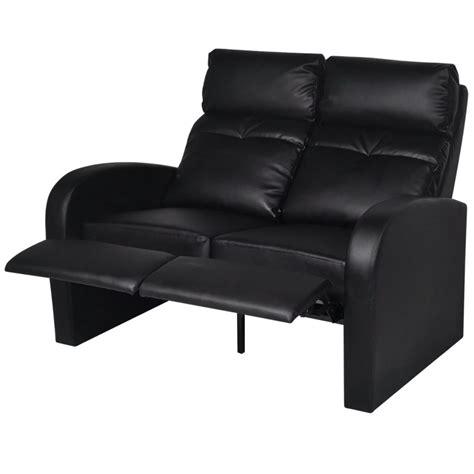 heimkino sessel der kunstleder heimkino sessel relaxsessel 2 sitzer sofa