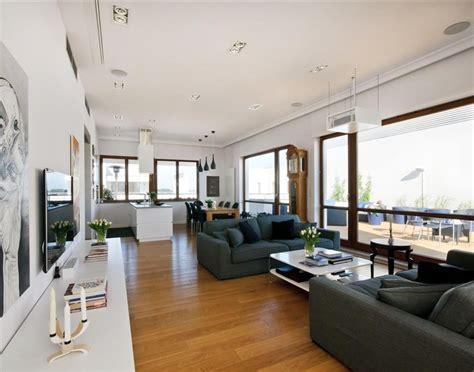 penthouse designs ekskluzywny penthouse jadalnia i salon architektura