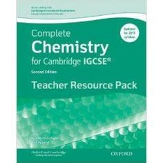 complete chemistry for cambridge 9780198308706 complete chemistry for cambridge igcse student book third edition igcse