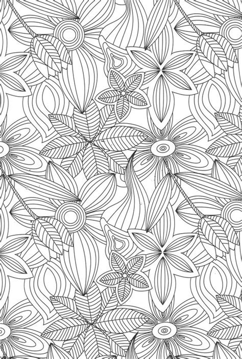 floral inspirations a detailed floral coloring book books coloring pages for best coloring pages for