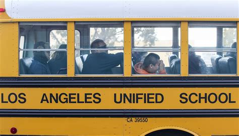 Lausd School Finder By Address A Los Angeles School Board Could Upend Plans By Charter Backers To Take