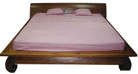 design platform indonesia indonesian bed frames solid teak opium style designs