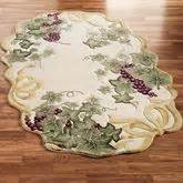 grape design kitchen rugs kitchen and dining room home accents touch of class