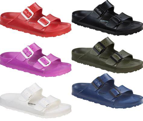 birkenstock plastic sandals birkenstock arizona rubber sandals lightweight new