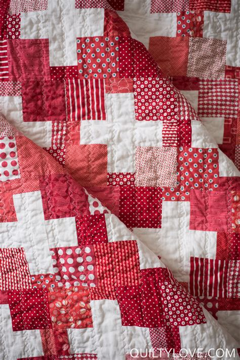 Quilt Plus by Scrappy Swiss Plus Quilt Quilty
