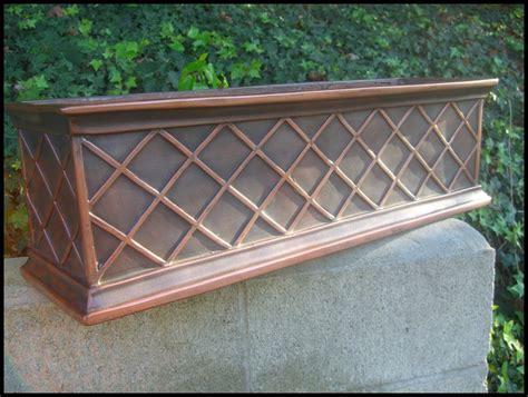 copper window box armorecoat la fleur window box is copper window box