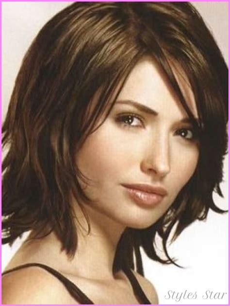 cute no layer cuts cute layered haircuts for medium thick hair stylesstar com