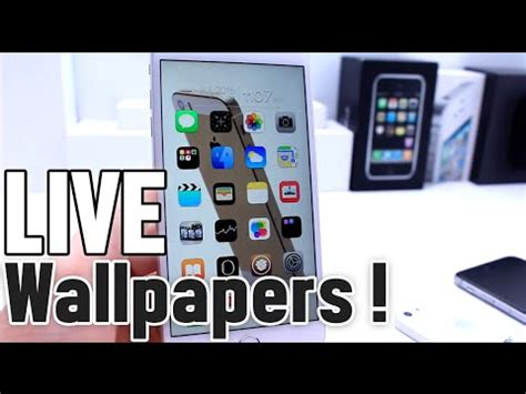 live wallpaper for iphone 5 without jailbreak how to install animated live wallpapers on iphone home
