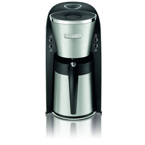 Krups KT720D50 10 Cup Thermal Carafe Coffee Maker Stainless Steel (Refurbished)   eBay
