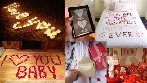 Time to think out Romantic Anniversary Ideas for Him