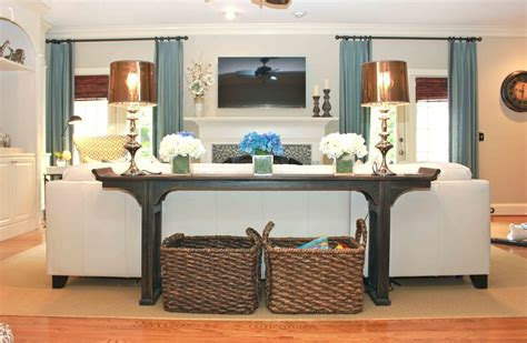 Living Room Sofa Table Sofa Table Decoration Ideas Sofa Ideas