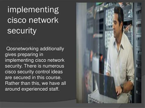 Cisco Network Security ppt how to implementing cisco network security powerpoint presentation id 7399515