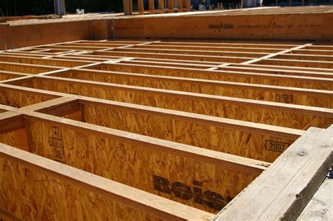 Engineered Floor Joists Westridge Area Mapache New Residence Portola Valley Ca