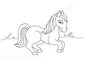 horse coloring pages learn coloring