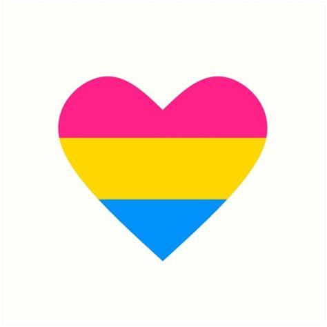 pansexual heart google search tattoo stuff pinterest
