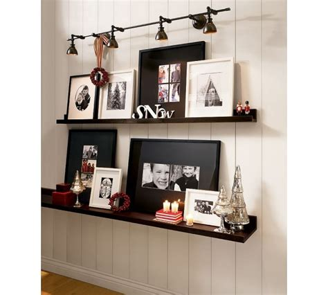 picture ledge ideas picture ledge shelf pottery barn other metro
