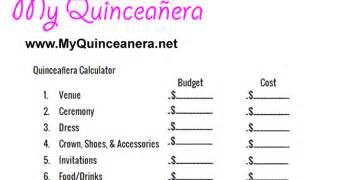 my quincea 241 era budget calculator