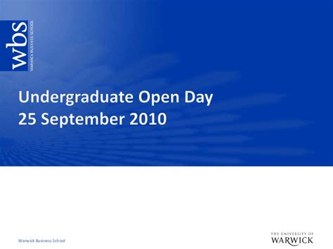 Cranfield Mba Open Day by Undergraduate Open Day September 2010