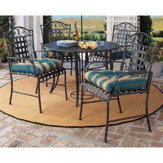 Wrought Iron 7 Patio Set by 7 Pc Vintage Wrought Iron Outdoor Furniture Patio Set