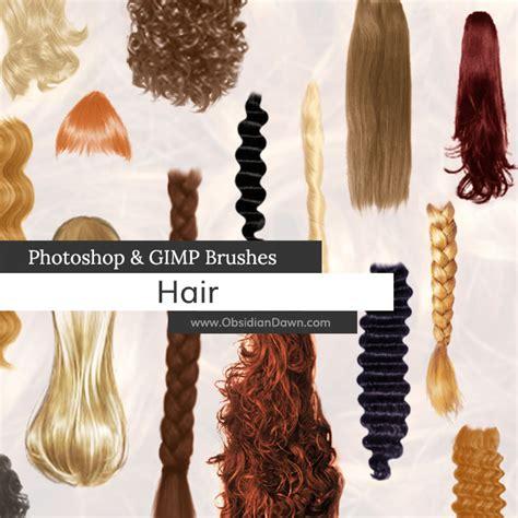 download hair brushes for gimp free hair brushes for gimp