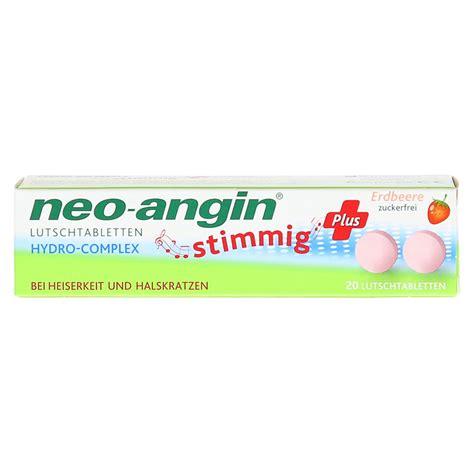 Lu Angin erfahrungen zu neo angin stimmig plus erdbeer