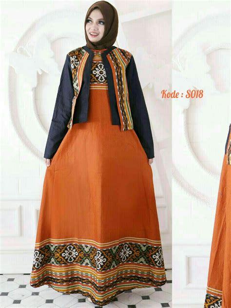 Larasati Maxi Gamis Bangkok maxi blazer katun bangkok s018 baju style ootd