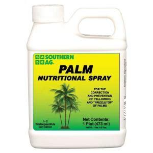 southern ag  pint palm nutritional spray