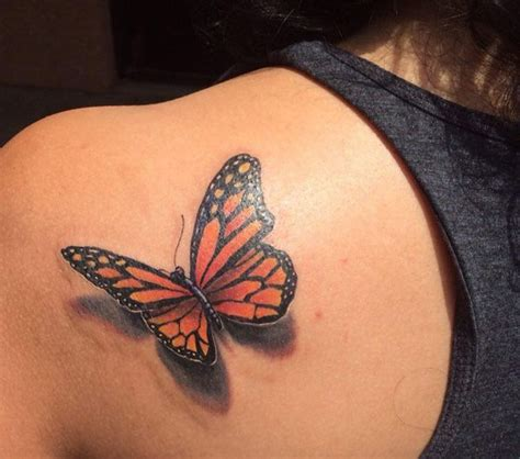 monarch butterfly tattoo designs 45 3d butterfly tattoos butterflies