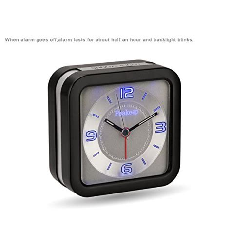 peakeep loud melody alarm clock for hearing impaired with snooze and new ebay