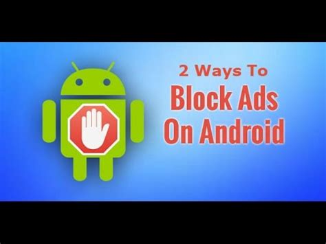 how to get rid of popups on android 2 ways to remove ads from android