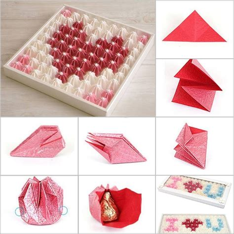 Chocolate Origami - valentines diy search s day diy