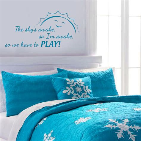Frozen Wall Decor by The Sky S Awake Frozen Inspired Wall Decal By Wildgreenrose