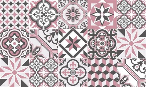 Tapis Carreaux De Ciment Vinyl 5869 by Tapis Vinyle Carreaux De Ciment Ginette