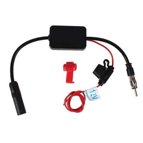 car antenna radio radio  fm hidden amplified antenna  fm signal amplifier booster