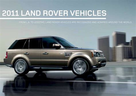 car maintenance manuals 2011 land rover range rover seat position control service manual how cars engines work 2011 land rover range rover sport parental controls buy