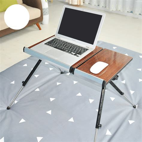 Learning Desk by Mobile Lifting Bed Notebook Computer Desk Folding Lazy