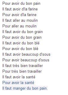 libro chanson de la ville 97 chant pour avoir du bon pain comptines petit bonhomme et boulangerie
