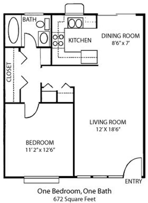 25 best ideas about 1 bedroom house plans on