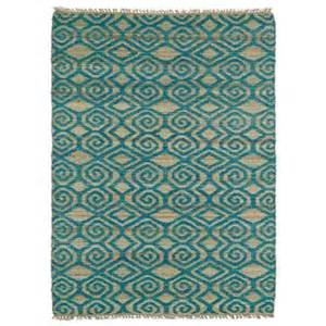 kaleen kenwood teal 3 ft 6 in x 5 ft 6 in sided