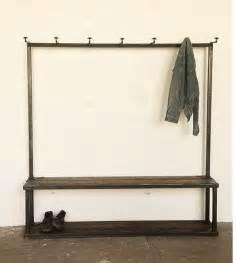 Bench Coat Hanger - bench coat rack for the home pinterest