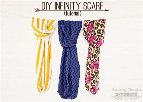 How To Sew An Infinity Scarf 234 Best Images About Sew Scarf Wraps On