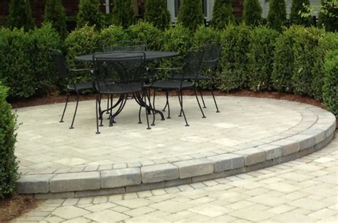 Paver Patio Installation 4 Tips For Designing A Brick Paver Patio In Lake Avc Hardscape Michigan