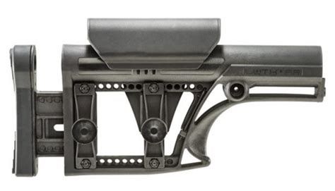 Luth Mba 1 Precision Rifle Stock by Luth Ar Ar 15 Modular Buttstock Assembly