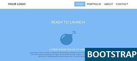 free responsive template using bootstrap