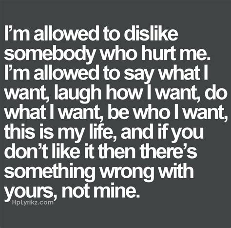 What Do I Want To Do With My Mba by I M Allowed To Dislike Somebody Who Hurt Me I M Allowed