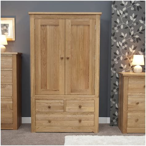 Furniture Wardrobe by Kingston Solid Modern Oak Bedroom Furniture